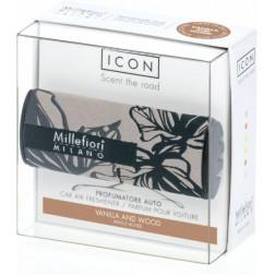 Millefiori Car Icon zapach samochodowy Textile Floral Vanilla & Wood