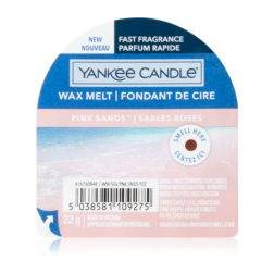 Wosk zapachowy do kominków Yankee Pink Sands