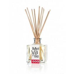 Dyfuzor zapachowy Patyczki Clem Goa DIVINE MIEL VANILLE (Miód i Wanilia) 200ml