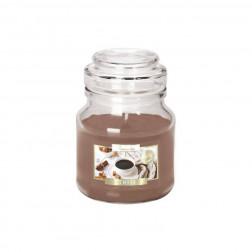 Mała Świeca Zapachowa w Szkle z Wieczkiem Coffee Kawa