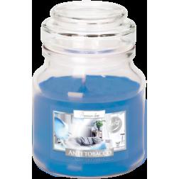 Mała Świeca Zapachowa w Szkle z Wieczkiem Anti Tobacco (Antytabak)