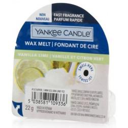 Wosk zapachowy do kominków Yankee Vanilla Lime
