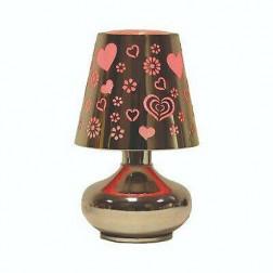 Kominek elektryczny Lampa Led Heart Serce