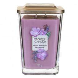 Yankee Elevation Sugared Wildflowers Dzikie Kwiaty Duża Świeca 2 knoty!