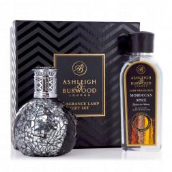 Zestaw Prezentowy Ashleigh & Burwood Lampa Zapachowa MAŁA Little Devil + Płyn  Moroccan Spice 250 ml