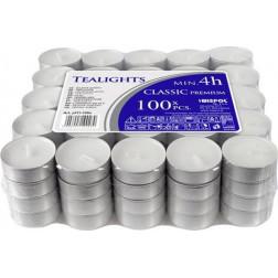 Podgrzewacze Tealight Classic Premium Bezzapachowe  w Stosie  100 sztuk