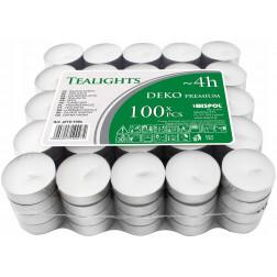 Podgrzewacze Tealight Deko Premium Bezzapachowe  w Stosie  100 sztuk