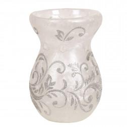 Kominek zapachowy ze srebrnym wzorem Silver Scroll