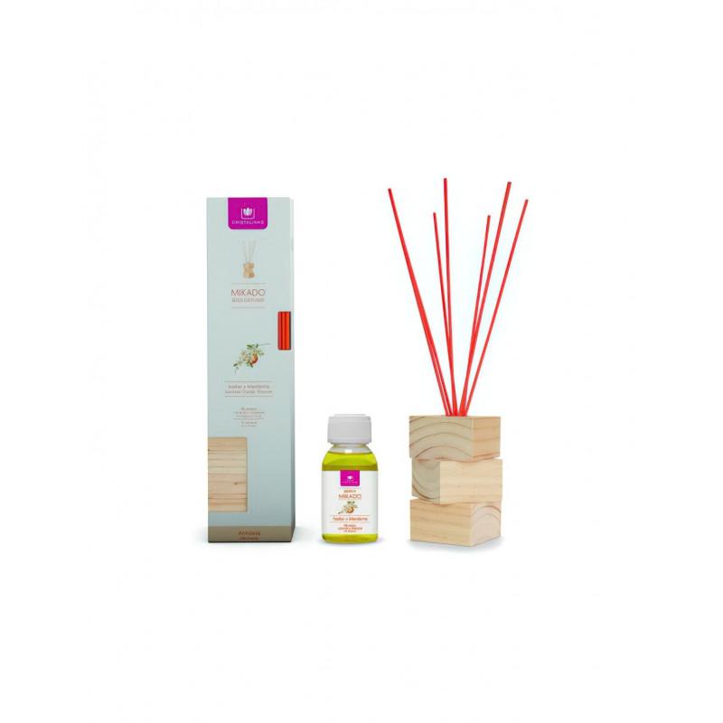 Dyfuzor Zapachowy Cristalinas WOOD Orange Blossom 100 ml | Kwiat Pomarańczy CRISTALINAS - 2