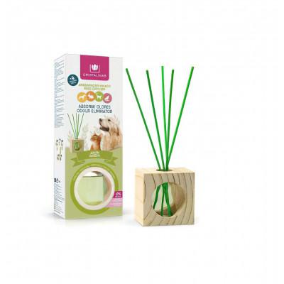 Dyfuzor Zapachowy CRISTALINAS PETS CUBO Garden 30 ml | Zielone Liście CRISTALINAS - 1