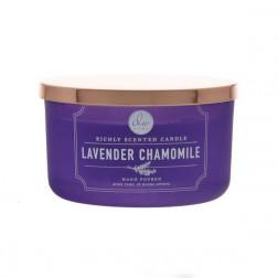 DW Home Lavender Chamomile Świeca zapachowa Duża Okrągła| Lawenda, Rumianek DW Home - 2