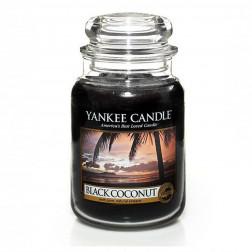 Yankee Candle Black Coconut Duża świeca zapachowa Czarny Kokos