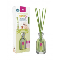 Dyfuzor Zapachowy CRISTALINAS PETS GLASS Garden 90 ml | Zielone Liście
