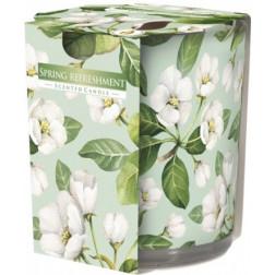 Ozdobna Świeca Zapachowa w Szkle - Spring Refreshment Wiosenne Orzeźwienie