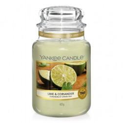 Yankee Candle Lime & Coriander Duża świeca WIOSNA!
