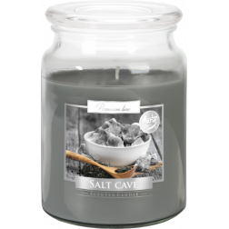 Duża Świeca Zapachowa w Szkle z Wieczkiem Salt Cave Grota Solna