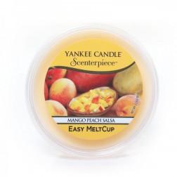 Wosk do kominków elektrycznych Yankee MANGO PEACH SALSA Melt Cup Scenterpiece