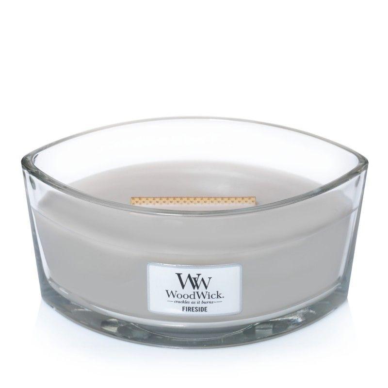 Świeca zapachowa WoodWick Core Fireside Elipsa