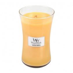 Świeca Seaside Mimosa WoodWick duża zapachowa - 1