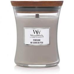 Świeca zapachowa WoodWick Core Fireside średnia