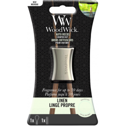 WoodWick pałeczki zapachowe do samochodu Linen -baza