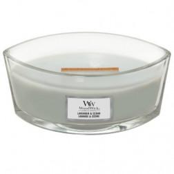Świeca zapachowa WoodWick Lavender & Cedar Elipsa Lawenda i Cedr Woodwick - 2