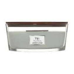 Świeca zapachowa WoodWick Lavender & Cedar Elipsa Lawenda i Cedr Woodwick - 3
