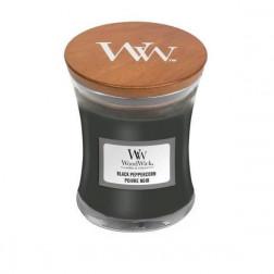 Woodwick Black Peppercorn Mała świeca zapachowa Pieprz