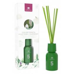 Dyfuzor Zapachowy Cristalinas COLORTHERAPY No.5 Green 125 ml | Konwalia