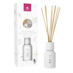 Dyfuzor Zapachowy Cristalinas COLORTHERAPY No.2 White 125 ml | Magnolia i Jaśmin