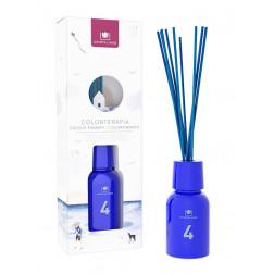 Dyfuzor Zapachowy Cristalinas COLORTHERAPY No.4 Blue 125 ml | Białe Kwiaty i Bergamotka