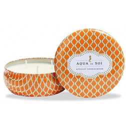 Świeca sojowa Aqua de Soi Apricot Sandalwood duża