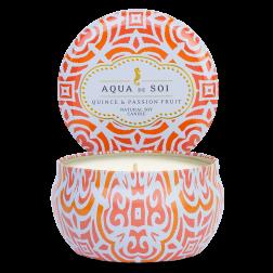 Świeca sojowa Eko Aqua de Soi Quince & Passion Fruit średnia