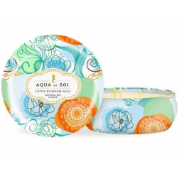Świeca sojowa Aqua de Soi Lotus Blossom Acai duża