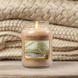 Yankee Candle Warm Cashmere Ciepły Kaszmir duża świeca zapachowa