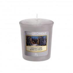 Yankee Candle Sampler Candlelit Cabin Votive Świeca Zapachowa Zima