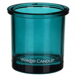 Ozdobny słoik osłonka świecznik Teal Yankee POP na votive lub tealight