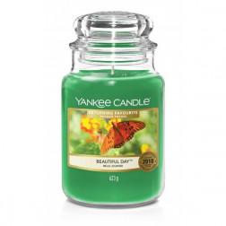 Yankee Candle Duża Świeca Zapachowa Beautiful Day | Owoce i Kwiaty