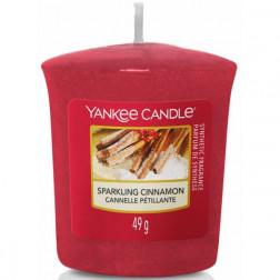 Yankee Candle Sparkling Cinnamon świeca zapachowa votive