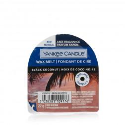 Wosk zapachowy do kominków Yankee Black Coconut Kokos