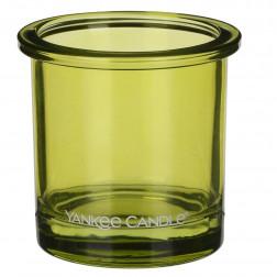 Ozdobny słoik osłonka świecznik Lime Yankee POP na votive lub tealight