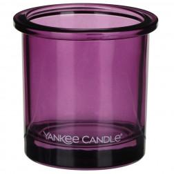 Ozdobny słoik osłonka świecznik Violet Yankee POP na votive lub tealight