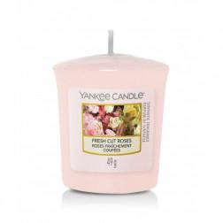 Yankee Candle Sampler Fresh Cut Roses świeca zapachowa votive