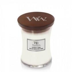 Świeca zapachowa WoodWick Core Coconut & Tonka Mała