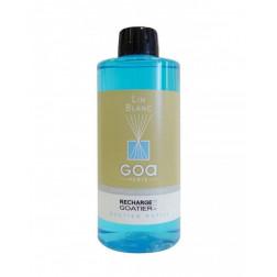 Wkład zapachowy  Goa LIN BLANC (Biały Len) 500 ml