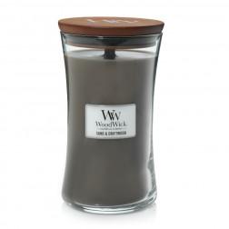 Świeca zapachowa WoodWick Sand & Driftwood duża