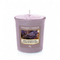 Yankee Candle Dried Lavender & Oak świeca zapachowa votive