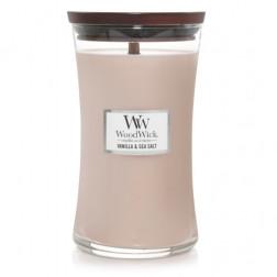 Świeca zapachowa Duża Vanilla & Sea Salt Woodwick
