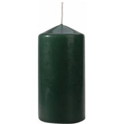 Świeca Walec Bispol Butelkowa Zieleń 1 sztuka 6x12 cm