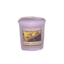 Yankee Candle Lemon Lavender Votive świeca zapachowa Cytrusowa Lawenda